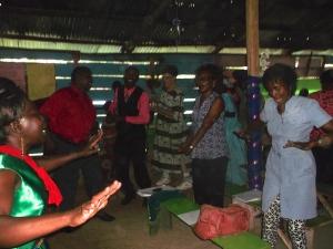 Rejoicing in dance