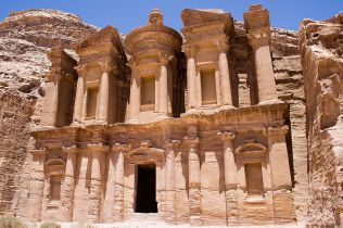 Monastery in Petra