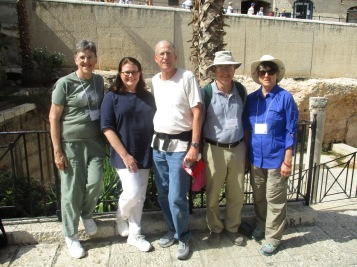 Purdue WDA staff team in Jerusalem