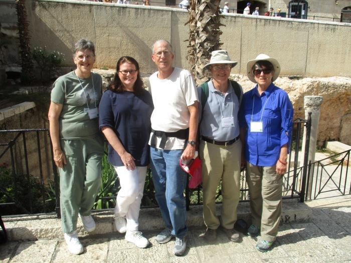 Purdue WDA staff team in Jerusalem